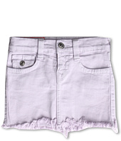True Religion Kids - Grils' Laylaa Cut-Off Skirt Overdye (Toddler/Little Kids/Big Kids)