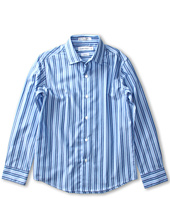 Calvin Klein Kids - L/S Gradient Stripe Shirt (Big Kids)