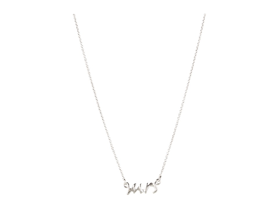 Kate Spade New York - Say Yes Mrs Necklace