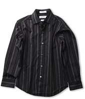Calvin Klein Kids - L/S Highlight Stripe Shirt (Big Kids)