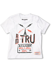 True Religion Kids - KTRU S/S Crew Tee (Toddler/Little Kids/Big Kids)