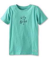 Life is good Kids - Girls' Stacked LIG Essential Crusher™ Tee (Little Kids/Big Kids)