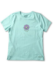Life is good Kids - Girls' Fresh Daisy Crusher Tee (Little Kids/Big Kids)