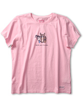Life is good Kids - Girls' Jackie Hold Crusher Tee (Little Kids/Big Kids)