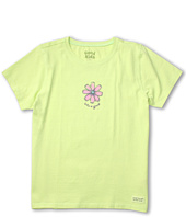 Life is good Kids - Girls' Fresh Flower Crusher Tee (Little Kids/Big Kids)