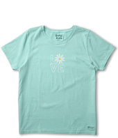 Life is good Kids - Girls' Daisy Love Crusher Tee (Little Kids/Big Kids)