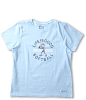 Life is good Kids - Girls' Jackie Crusher Tee (Little Kids/Big Kids)