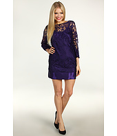 Laundry by Shelli Segal - Baroque Placement Lace Dress