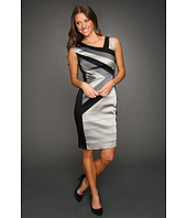 Jax - Colorblock Satin Stretch Dress