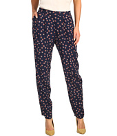 BCBGeneration - Geo Print Pleated Pull-On Trouser