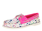 Sperry Top-Sider - A/O 2 Eye (Milly Confetti Print/Hot Pink Patent)