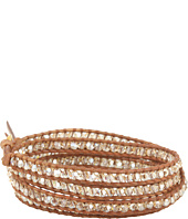 Chan Luu - 32' Wrap with Swarovski Crystals Golden Shadow Mix