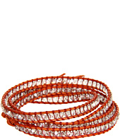 Chan Luu - 32' Wrap w/ Crystal Silver Shade/Natural Orange