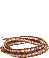 Chan Luu - 32' Wrap with Crystal Silver Shade/Natural Brown
