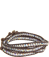 Chan Luu - 32' Wrap with Crystal AB/Natural Grey