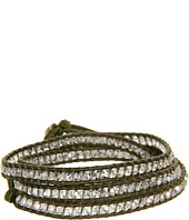 Chan Luu - 32' Wrap with Silver Shade Crystal/Natural Green