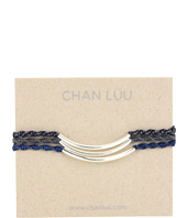 Chan Luu - 3 Pack Friendship Metal Tube Bracelet Blue Mix