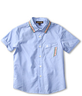 Roberto Cavalli Kids - Y85001 Y0080 Short Sleeve Dress Shirt (Toddler/Little Kids)
