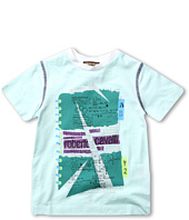Roberto Cavalli Kids - Y88111 Y9150 Graphic Tee (Toddler/Little Kids)