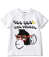 Roberto Cavalli Kids - Y88151 Y9045 Graphic Tee w/ Monkey (Toddler/Little Kids)