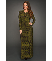 KAMALIKULTURE - L/S Crew Neck Maxi Dress