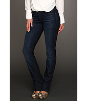 7 For All Mankind - Kimmie Straight Leg w/ Contoured Waistband in Reflective Night Star