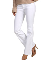 7 For All Mankind - Kimmie Short Inseam Bootcut w/ Contoured Waistband in Clean White