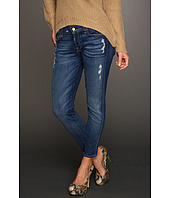 7 For All Mankind - Josefina Skinny Boyfriend in Distressed Starry Night