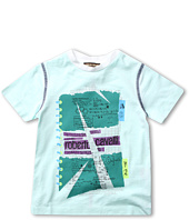 Roberto Cavalli Kids - Y88111 Y9150 Graphic Tee (Big Kids)