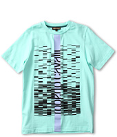 Roberto Cavalli Kids - Y88001 Y9045 Graphic T-Shirt (Big Kids)