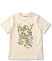 Roberto Cavalli Kids - Y88031 Y9045 Graphic Tee (Big Kids)