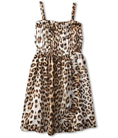 Roberto Cavalli Kids - Y71062 Y2435 Sleeveless Dress w/ Ruffle Detail (Big Kids)