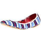 Nine West - Americana (White Multi/Blue Fabric) - Footwear