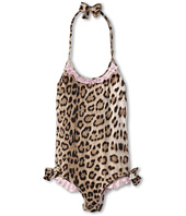 Roberto Cavalli Kids - Y70029 Y3910 One Piece Swimsuit w/ Ruffles and Bows (Big Kids)
