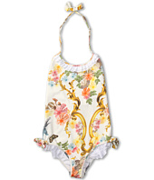 Roberto Cavalli Kids - Y70029 Y3920 Swimsuit w/ Ruffles and Bows (Big Kids)