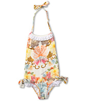 Roberto Cavalli Kids - Y70029 Y3920 Swimsuit w/ Ruffles and Bows (Toddler/Little Kids)