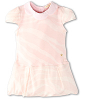 Roberto Cavalli Kids - Y51081 Y2475 Short Sleeve Dress Scalloped Collar (Infant 2)