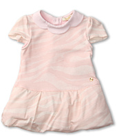 Roberto Cavalli Kids - Y51081 Y2475 Short Sleeve Dress Scalloped Collar (Infant)