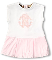 Roberto Cavalli Kids - Y51002 Y1295 Short Sleeve Dress w/ Logo (Infant)