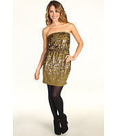 BCBGMAXAZRIA - Atalaya Sequin Strapless Dress