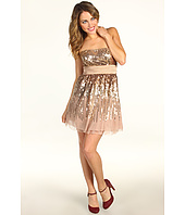 BCBGMAXAZRIA - Laylan Sequin Strapless Dress