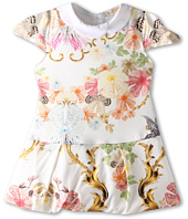 Roberto Cavalli Kids - Y51081 Y2470 S/S Dress w/ Collar (Infant 2)