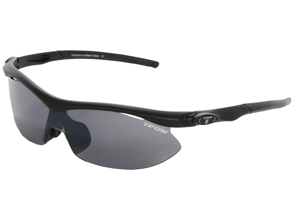 Tifosi Optics - Asian Sliptm Golf Interchangeable (Matte Black) Sport Sunglasses