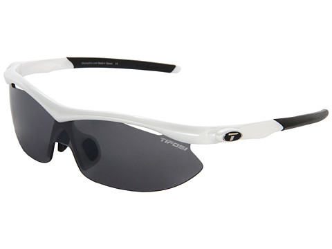 Tifosi Optics Asian Slip™ Interchangeable - Pearl White/Smoke/AC Red/Clear Lens