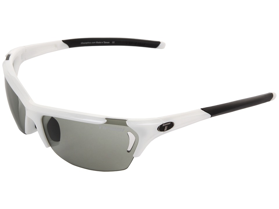 Tifosi Optics Radiustm Fototectm Smoke (Pearl White/Smoke Fototec Lens) Sport Sunglasses