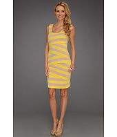 Vince Camuto - Zigzag Bandage Stripe Tank Dress