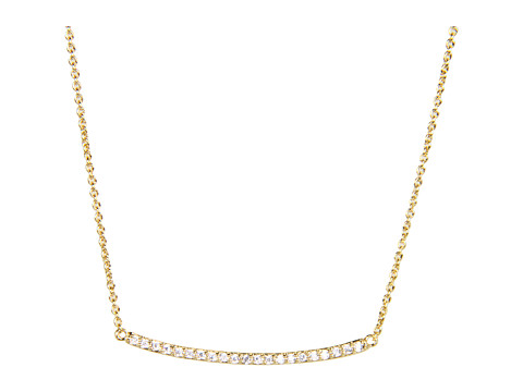 gorjana Taner Pave Bar Necklace - Gold