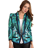 Just Cavalli - Atlantis Print Cotton Blazer