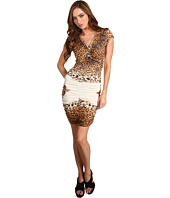 Just Cavalli - Leopard Print Ruched Dress