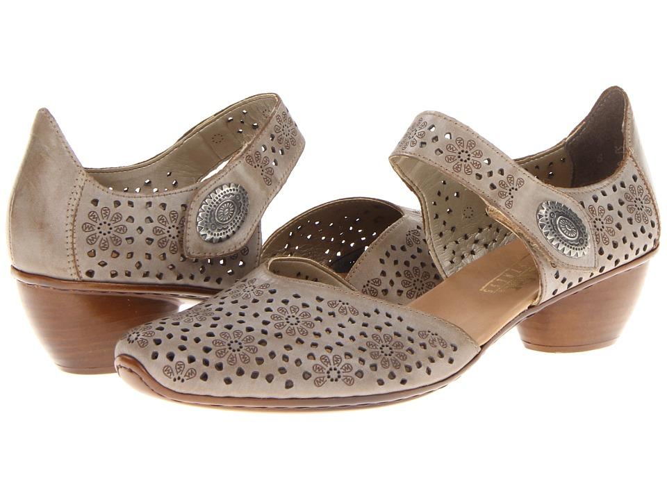 Rieker 43711 Mirjam 11 (Taupe) 1-2 inch heel Shoes